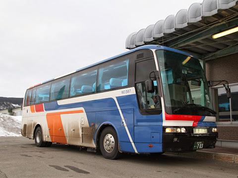 宗谷バス「特急えさし号」札幌線 ・703