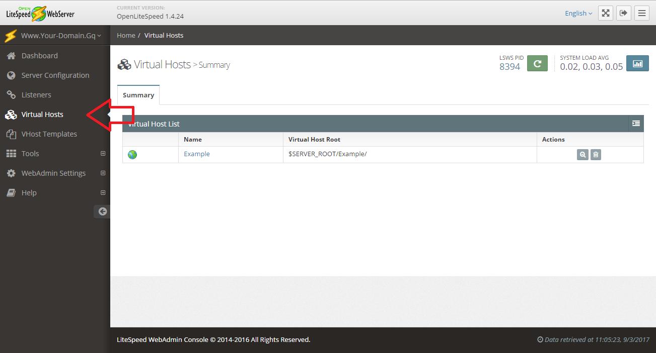 [LOMP – 5] Cài đặt Web Server OpenLiteSpeed trên Red Hat CentOS 6 – Tổng chạy hệ thống