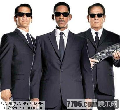 姚明客串《黑衣人3》 網友大呼劇中中國元素給力