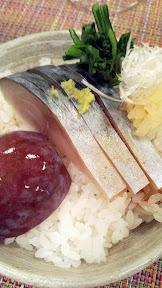 Nodoguro PDX September 2014, theme dinner Totoro. Eighth Course: Satsuki's Bento