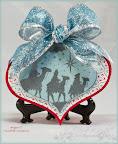 Wisemen Ornament Card