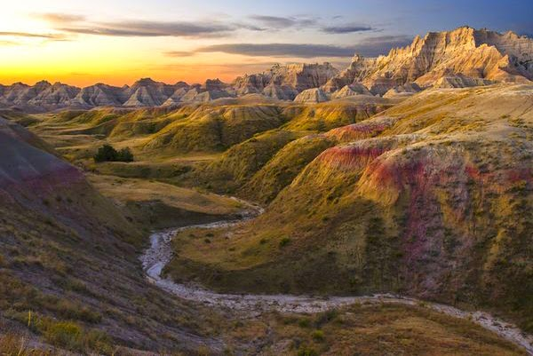 Parque Nacional de Badlands (Dakota del Sur, EE.UU.)