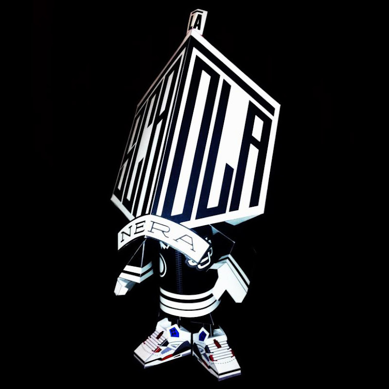 La Scatola Nera Paper Toy The Black Box
