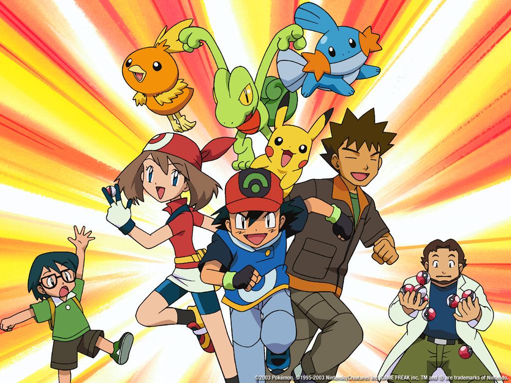 Personagens de Pokémon mais recentes