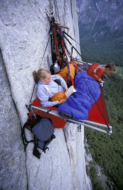 3Portaledge camping at Yosemite