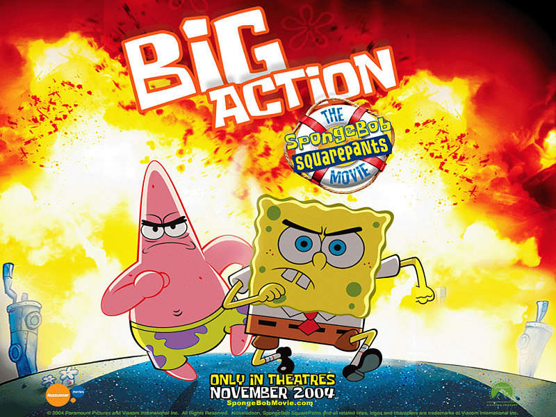 Spongebob Big action