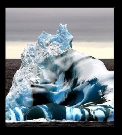 """Los colores de los Icebergs """"RAYADOS"""""""
