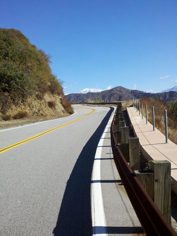 Tour de Foothills • Glendora Mountain Road