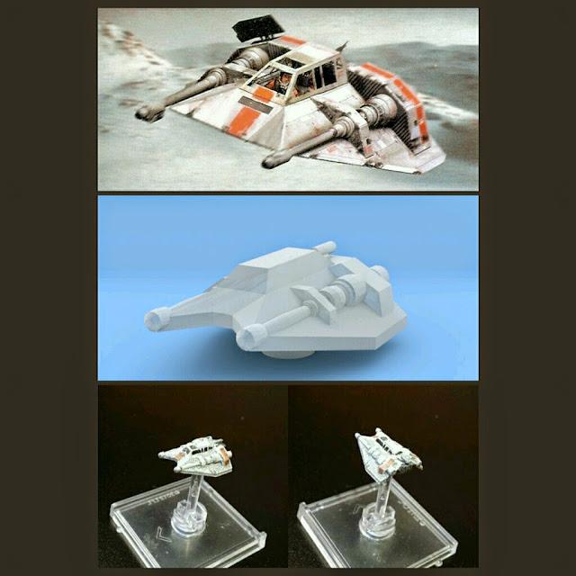 Snowspeeder de Mel Miniatures