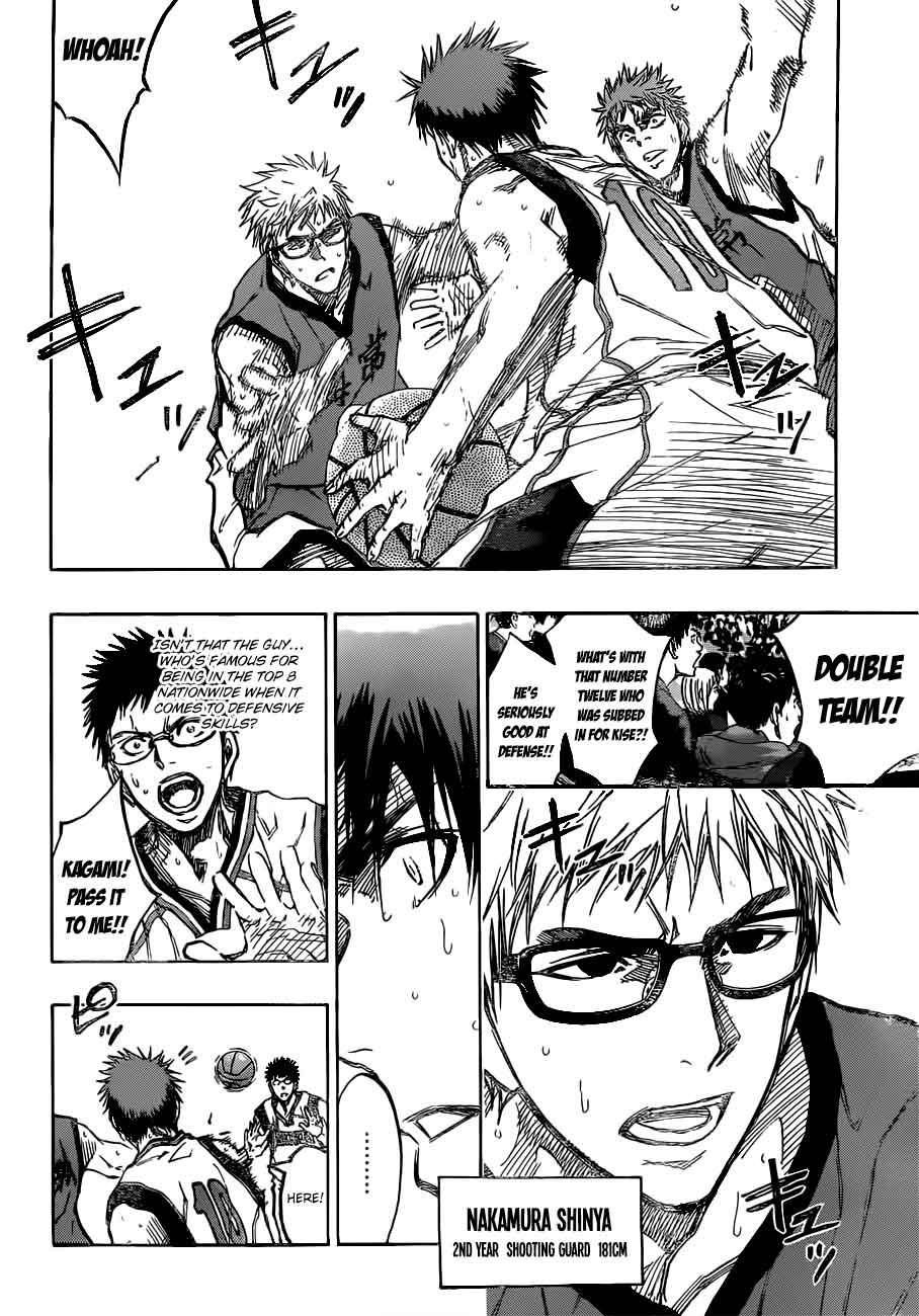 Kuroko no Basket Manga Chapter 190 - Image 16