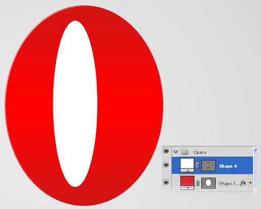 Membuat icon opera dengan photoshop