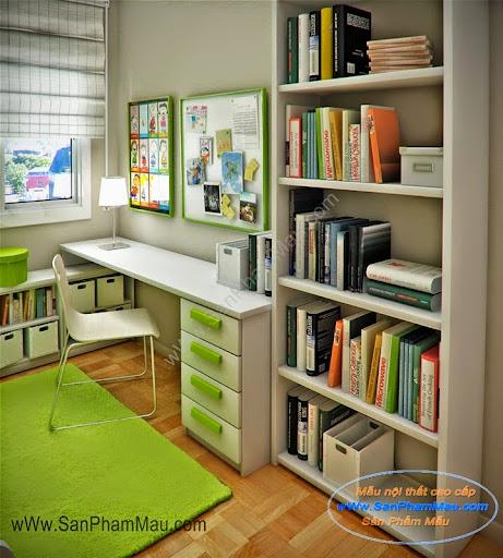 Tư vấn thiết kế phòng đọc sách