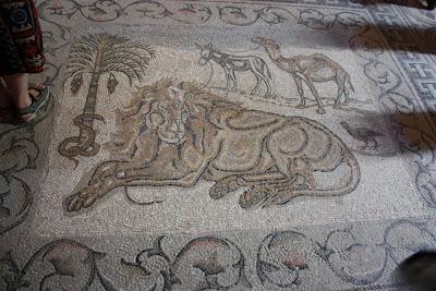 Мозаика в монастыре Герасима Иорданского