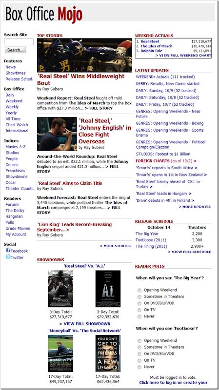 go to BoxOfficeMojo.com