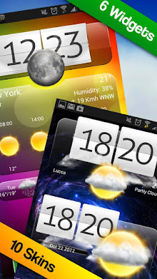 Premium Widgets & Weather v1.3 for Android