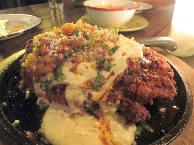 chicken fried ribeye steak with cream of wheat and fried egg, Bar Amá, Josef Centeno, LA, downtown Los Angeles dining