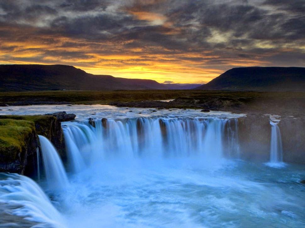 Деттифосс, Исландия, Красивые водопады планеты
