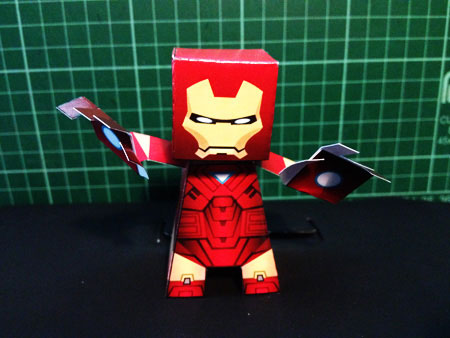 Iron Man Paper Toy v2