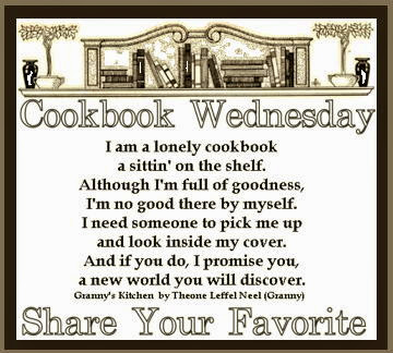 Cookbook Wednesday Share Your Favorite