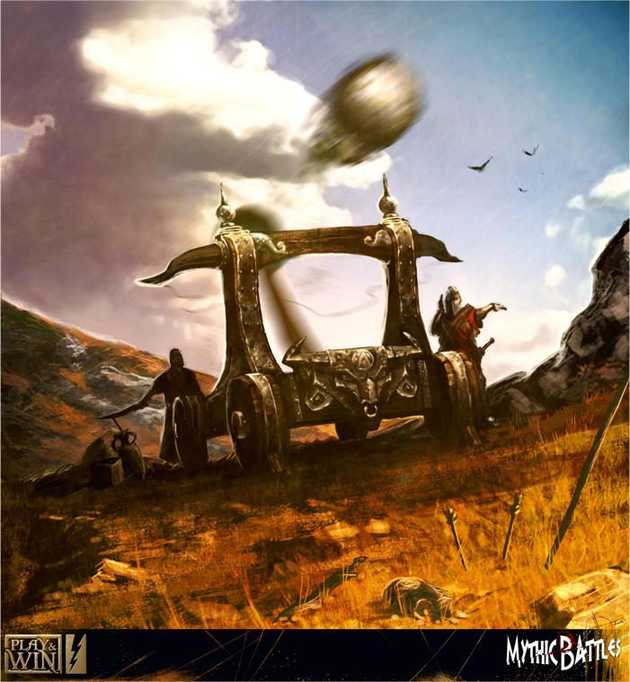 Mythic Battles boardgame