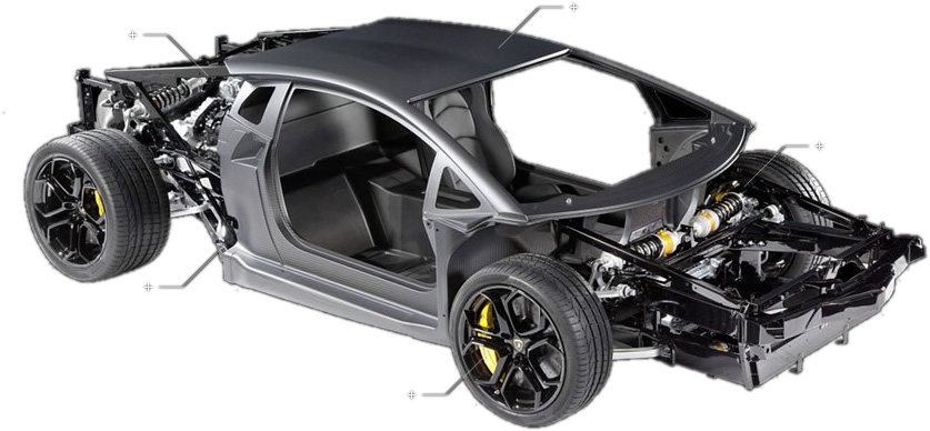 Lamborghini Avendator Frame