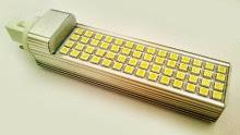 PLC G24 lamp with 56 LEDs 5050, λαμπτήρας PLC με 56  LED 5050 11W