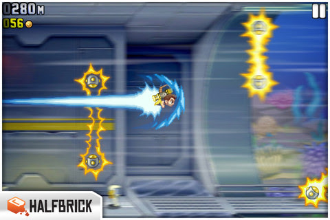 Jetpack Joyride,arcade games,games,top 10 arcade games,iphone games,games
