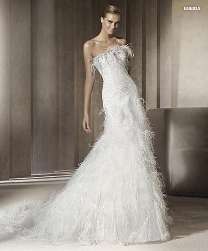 Menyasszonyi ruha 2012 Pronovias Eneida