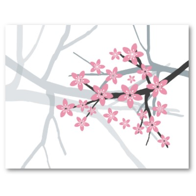 cherry tree blossom drawing. cherry tree blossom drawing.