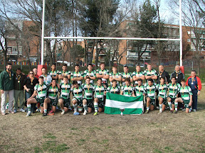 La selección andaluza sub 18 de rugby,  campeona de España