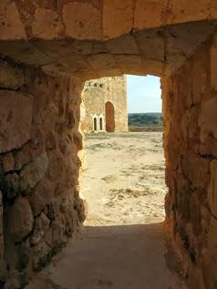 Imagen del castillo de Peñarroya