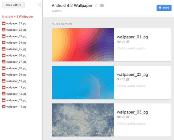 Google Drive Shared Folder Old