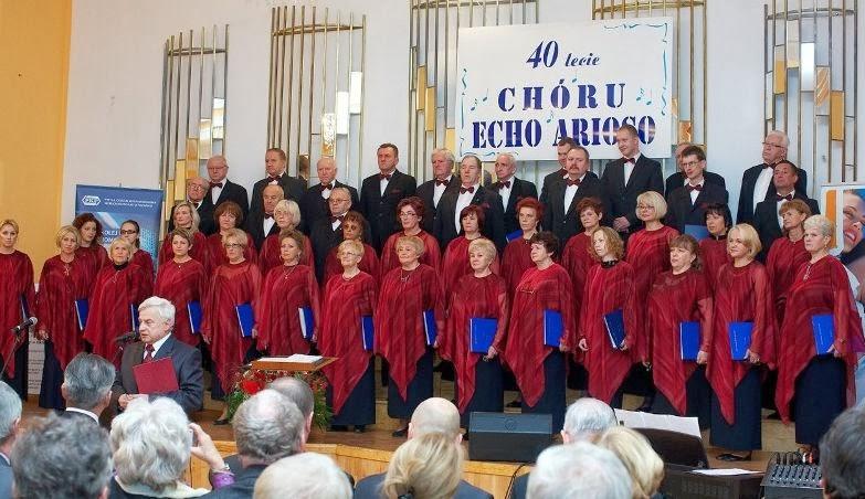 Der Chor Echo Arioso aus Stargard 2012 im Konzert anlässlich seines 40-jährigen Bestehens
