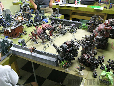 Warhammer 40k Apocalypse campaign game
