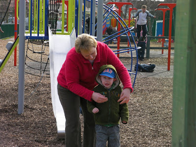 dont go out without a coat bransbury park climbing frames