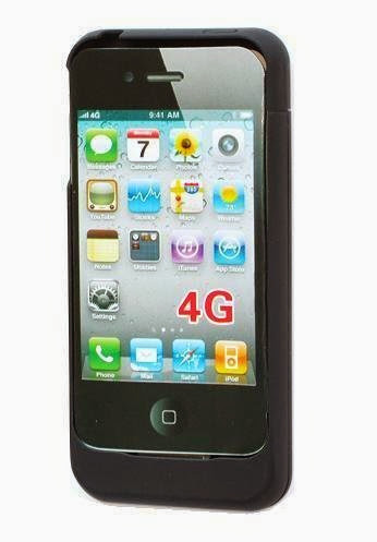 Back Up Battery Power Case for Apple iPhone 4
