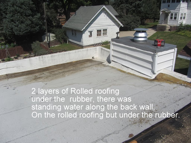 The back addition roof had 2 layers of rolled roofing with fiberboard in between. There was standing water on the top layer of roll roofing. & Breaktime Classic memphite.com