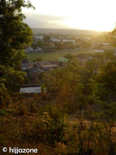Sumbawa Bird View on Sunset
