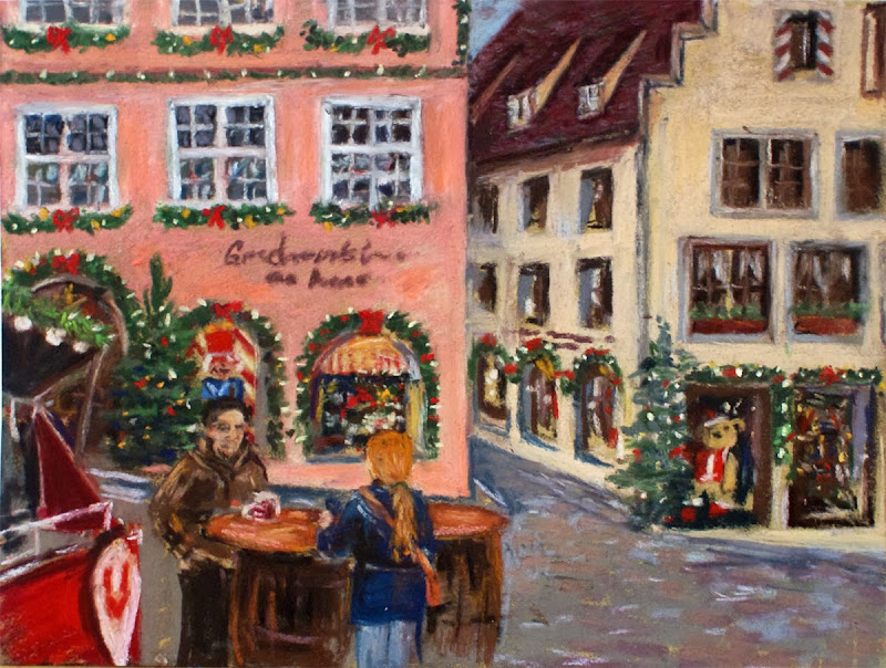 Стихи, рождество в германии картинки нарисованные