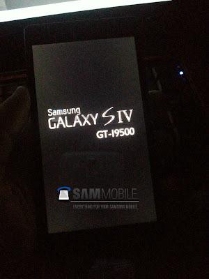 GALAXY SIVのブート画面