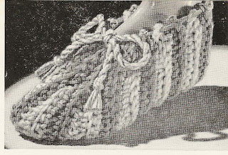 Beginners Stripped Slippers Crochet Pattern
