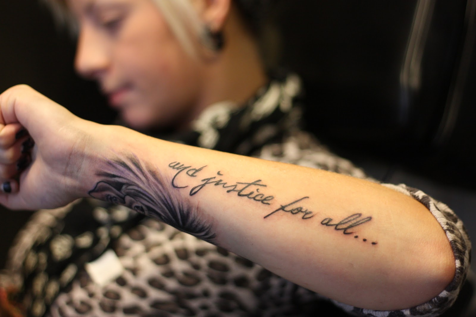 Little Bird Tattoo And Justice For All