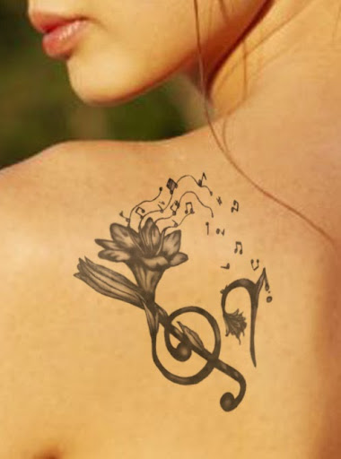 Music Note Tattoos
