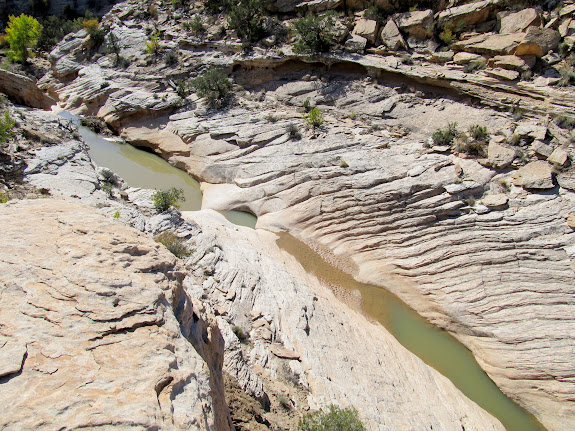 Water in Nate's Canyon