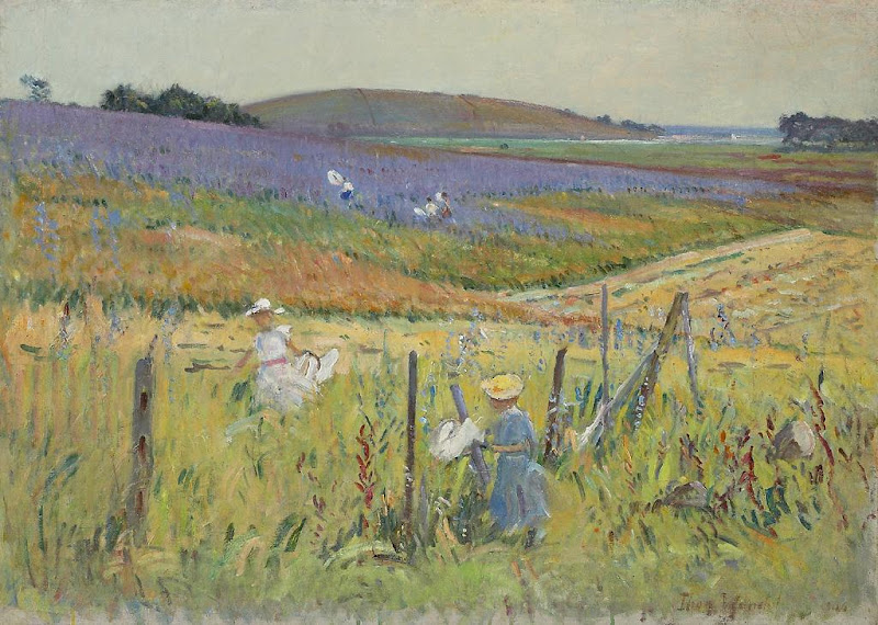 Theodore Wendel – The Butterfly Catchers