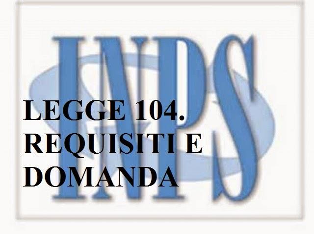 domanda legge 104 inps online