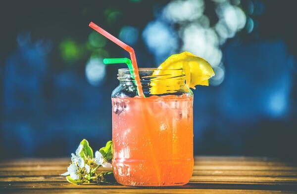 foto de um drink