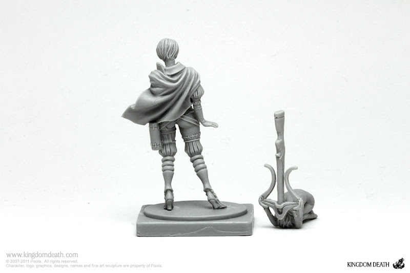 kingdom death character great game hunter