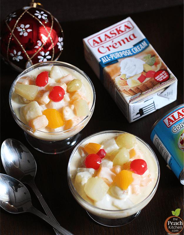 Fruit Salad Made with Alaska Crema