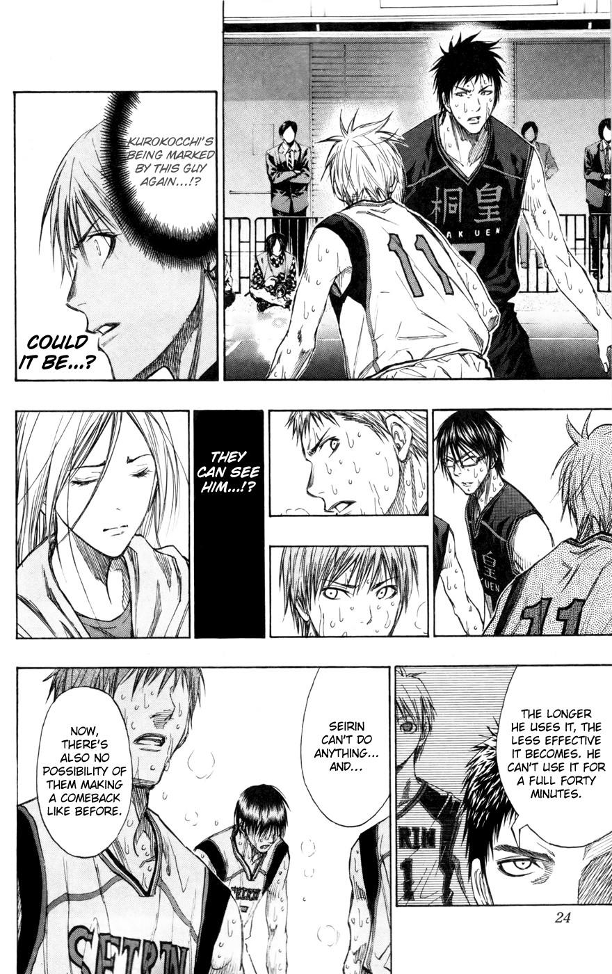 Kuroko no Basket Manga Chapter 127 - Image 24